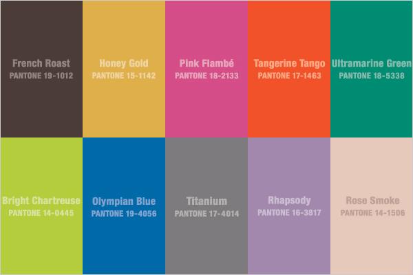 Fashion Color Trends Winter