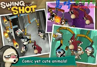 猴子也瘋狂 APK / APP 下載、Swing Shot APK / APP Download,好玩的 Android 手機遊戲