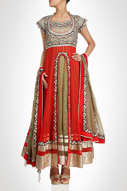 Kiran&ampShruti Akshindianfrockstyledresses 7  - Indian Frock Style Dresses Collection