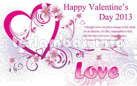 Kata Ucapan Valentine 2013