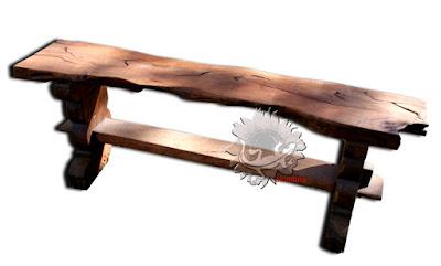 Amadera meuble et d coration le charme thique du for Banc de jardin en bois exotique