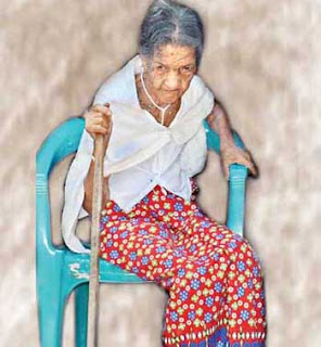 World's Oldest Living Woman gossip9.lk