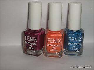 Lakiery do paznokci FENIX (nowość) - będzie ogień czy popiół?