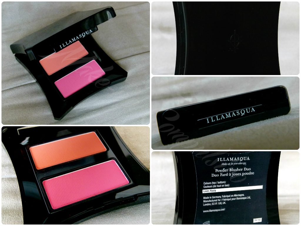 Illamasqua Powder Blusher Duo in Lover/Hussy
