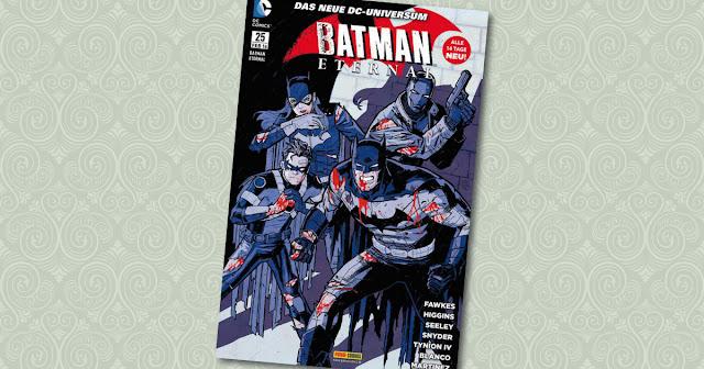 Batman Eternal 25 Panini Cover