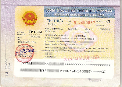 Multiple entry visa to Vietnam