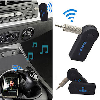 3.5mm USB Wireless Bluetooth Receiver Audio Music Adapter Home Car AUX Speaker