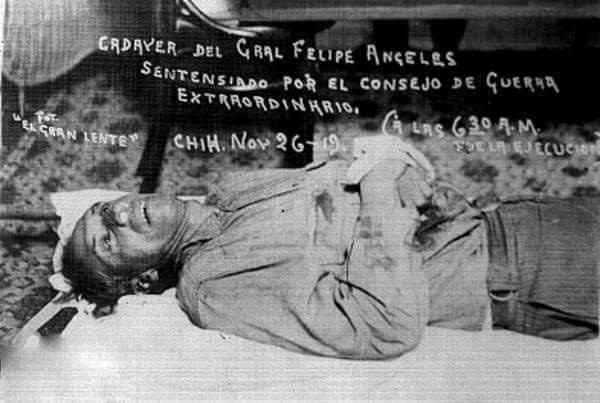 La infamia contra Felipe Ángeles