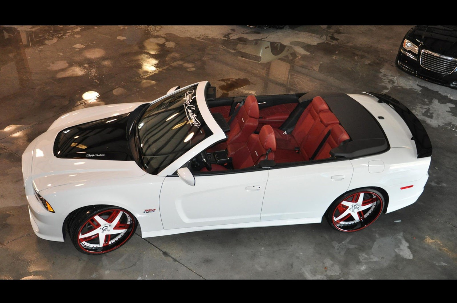 2012 Dodge Charger Srt8 Custom Convertible On Forgiato Rims