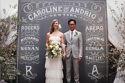 Photocall personalizado boda