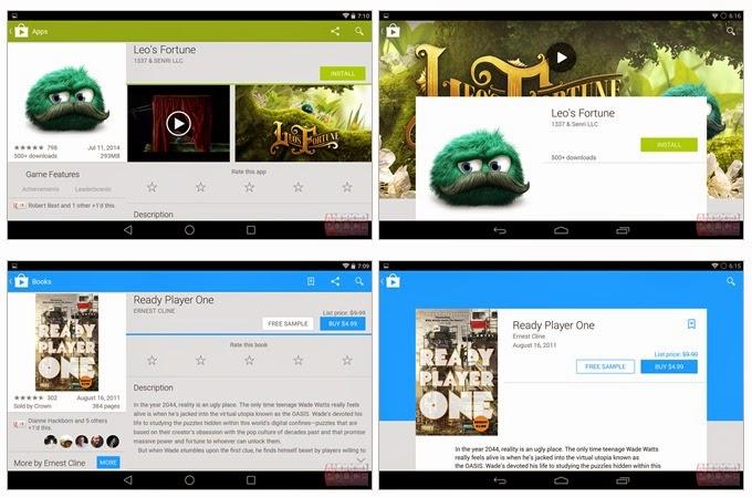 Google Play Store Yenileniyor