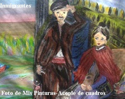 INMIGRANTES- Amparo Estévez Saviza