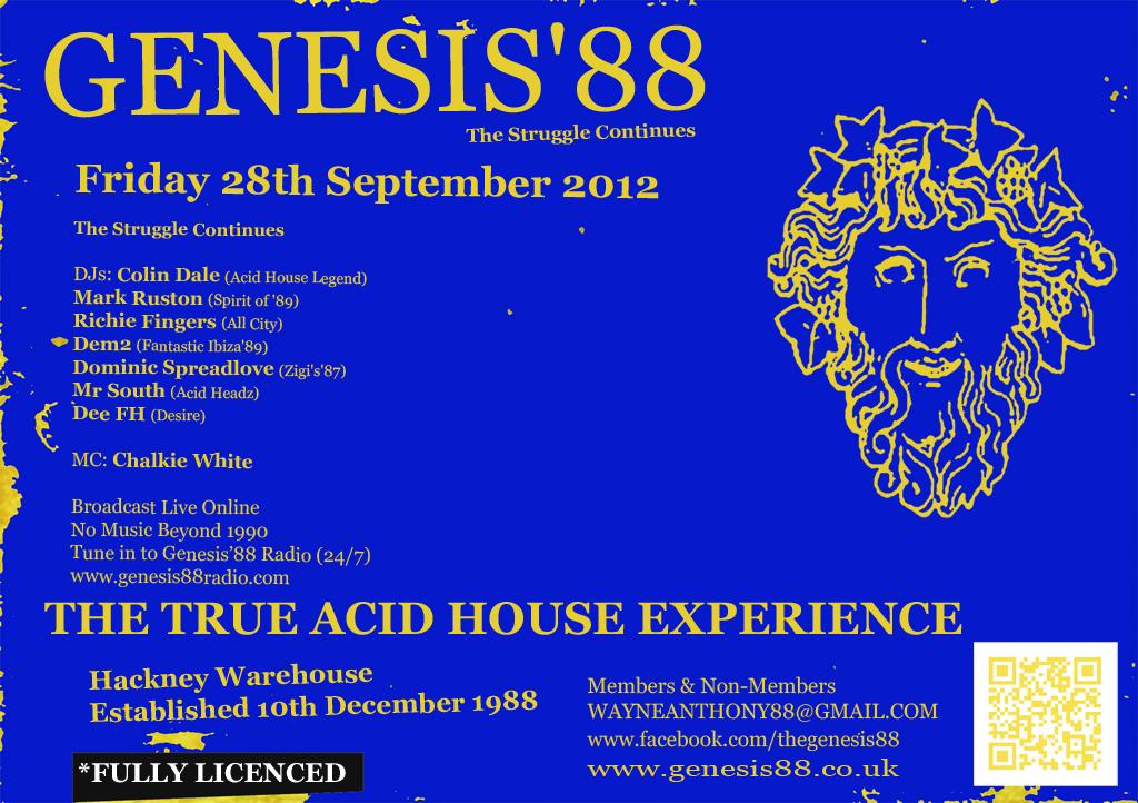 The history of acid house genesis 39 88 true acid house for Acid house history