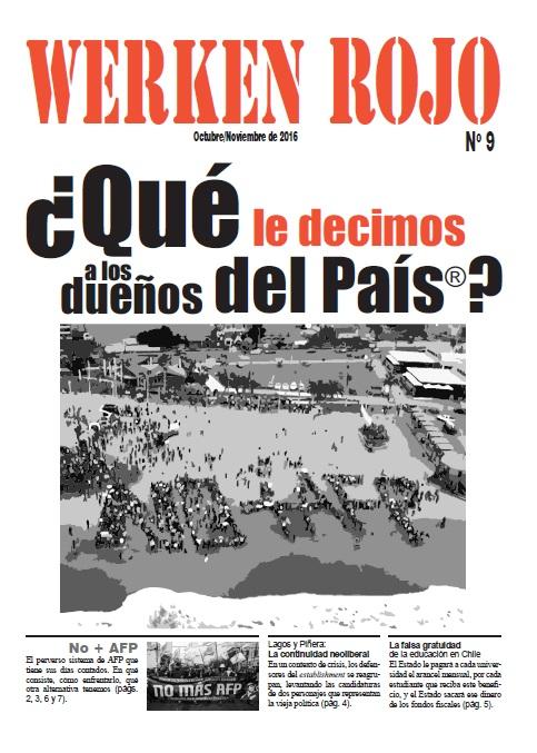 Werken Rojo # 9 digital