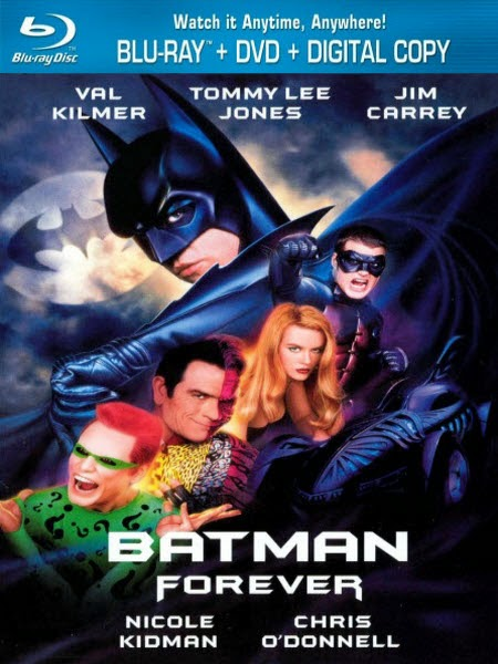 Batman Forever 1995 Hindi Dubbed Dual Audio BRRip 480p 300mb