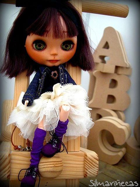 basaak doll en la feria de oportunidades de Basauri