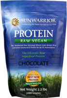 Our Allergy-Free Protein Powder  SUNWARRIOR at Vitacost