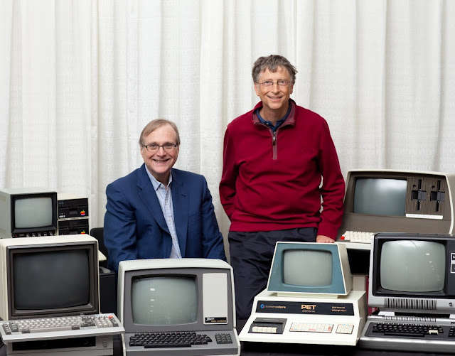 Bill Gates y Paul Allen en la actualidad