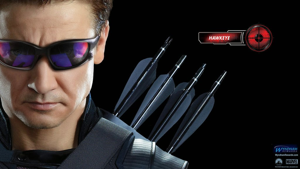 the avengers age of ultron hawkeye - clint barton