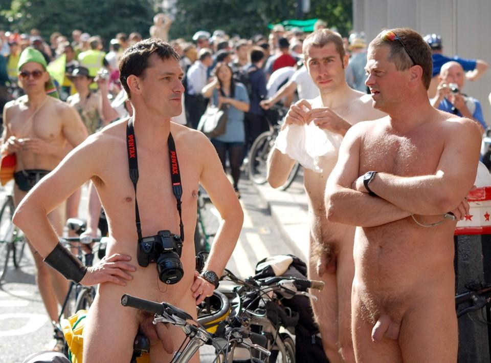 Man against girl rubbing naked