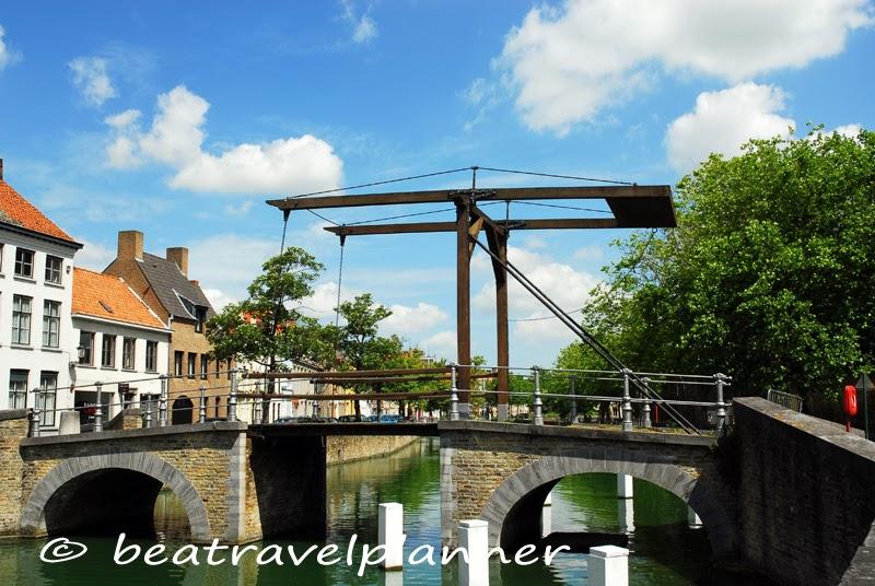 Bruges - Ponte levatoio