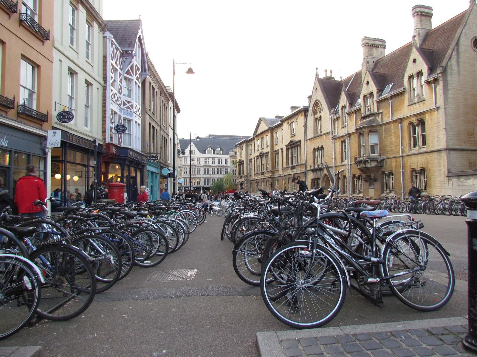 A veces en bici a veces no parking de bicicletas en oxford - Parking de bicicletas ...