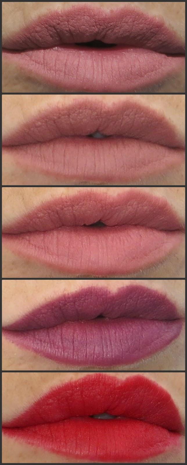 revolution renaissance lip liner swatches
