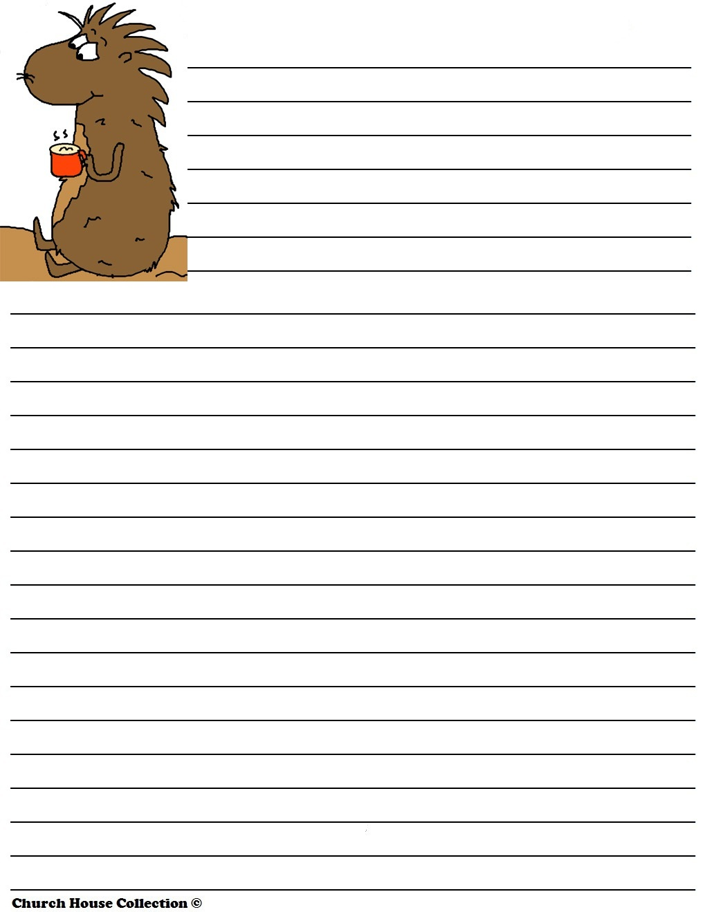 lined paper for writing activity shelter