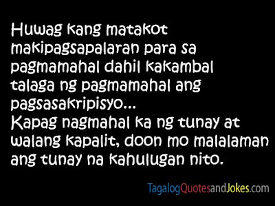 Cheesy Tagalog Quotes Images - 2