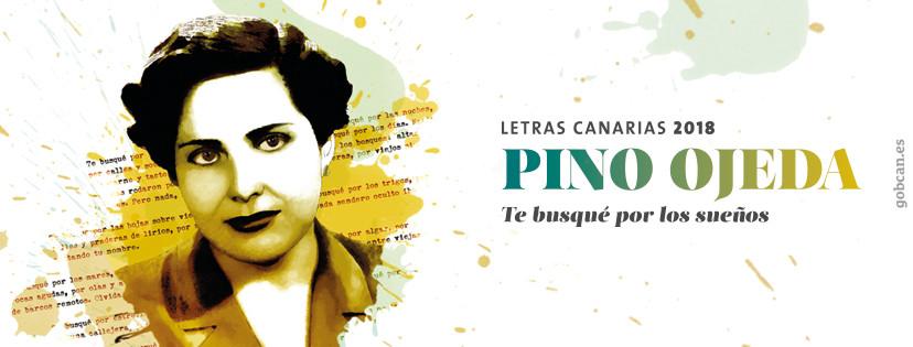 Letras Canarias 2018:Pino Ojeda