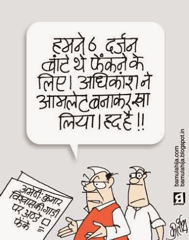 kumar vishwas cartoon, aam aadmi party cartoon, AAP party cartoon, rahul gandhi cartoon, election 2014 cartoons