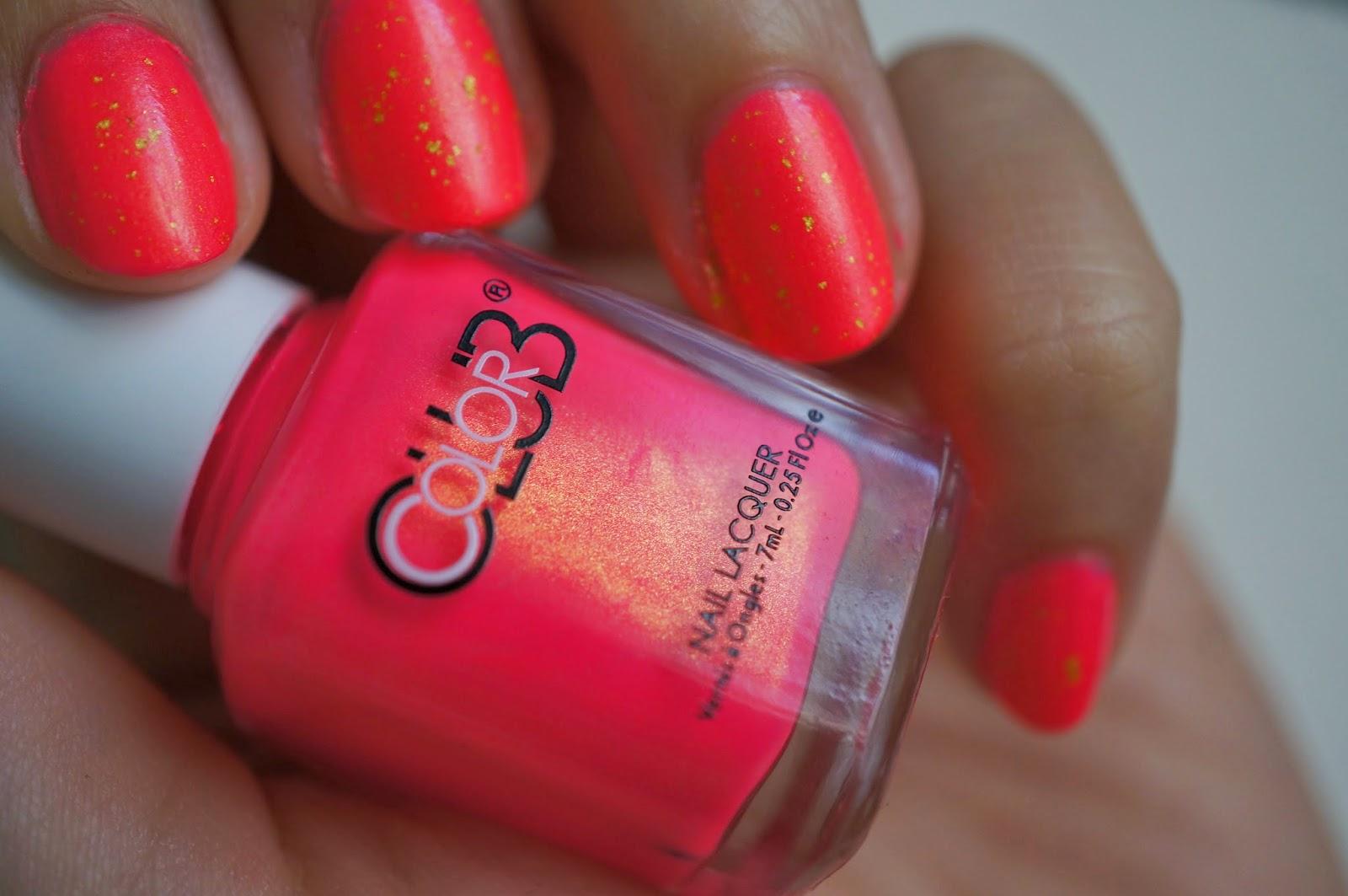 Birchbox Color Club Nail Polish Peace Love Polish Swatch