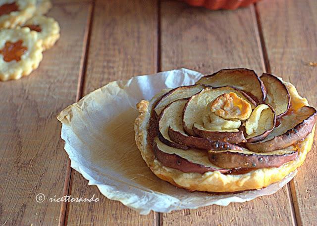 Pasta frolla alle mandorle e golosi biscotti e crostatine