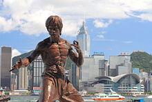 Wat bandnaam Adema betekent - Hong_kong_bruce_lee_statue