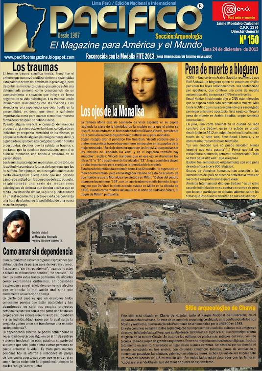 Revista Pacífico Nº 150 Arqueología