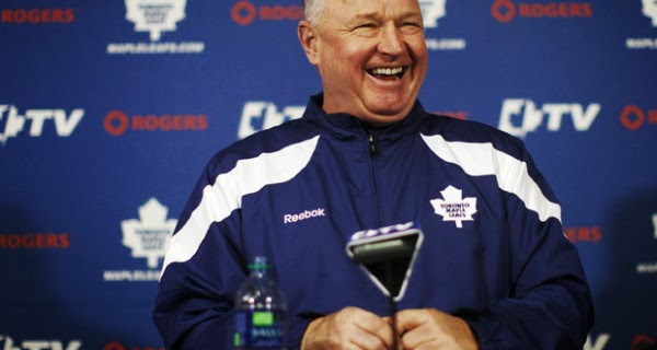 randy carlyle leafs fire