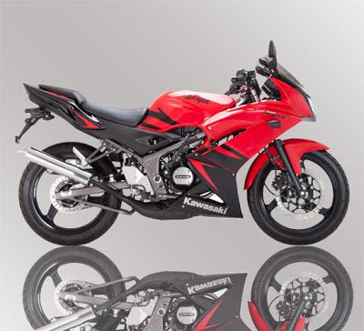 Kawasaki Ninja RR 150 Red