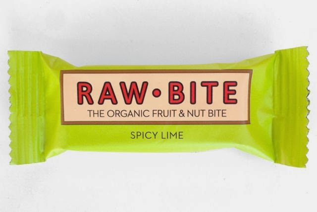 Raw Bite - Spicy Lime - Fruit and Nut Snack Bar