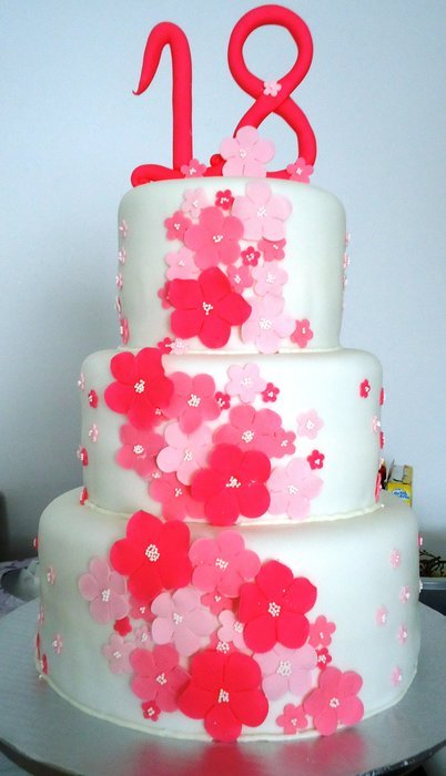Cake Debut Three Cake Ideas and Designs