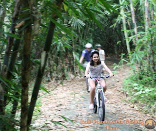 Photos Of Bamboo Forest Bali Countryside Cycling Tour Tracks - ride in bamboo forest with kid