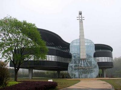 В форме фортепиано и скрипки китай