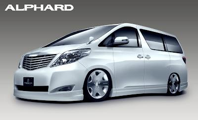 Gambar Mobil Alphard