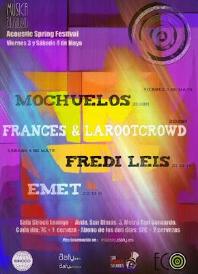 EMET en concierto el Sala Siroco Lounge 4 de mayo 2013