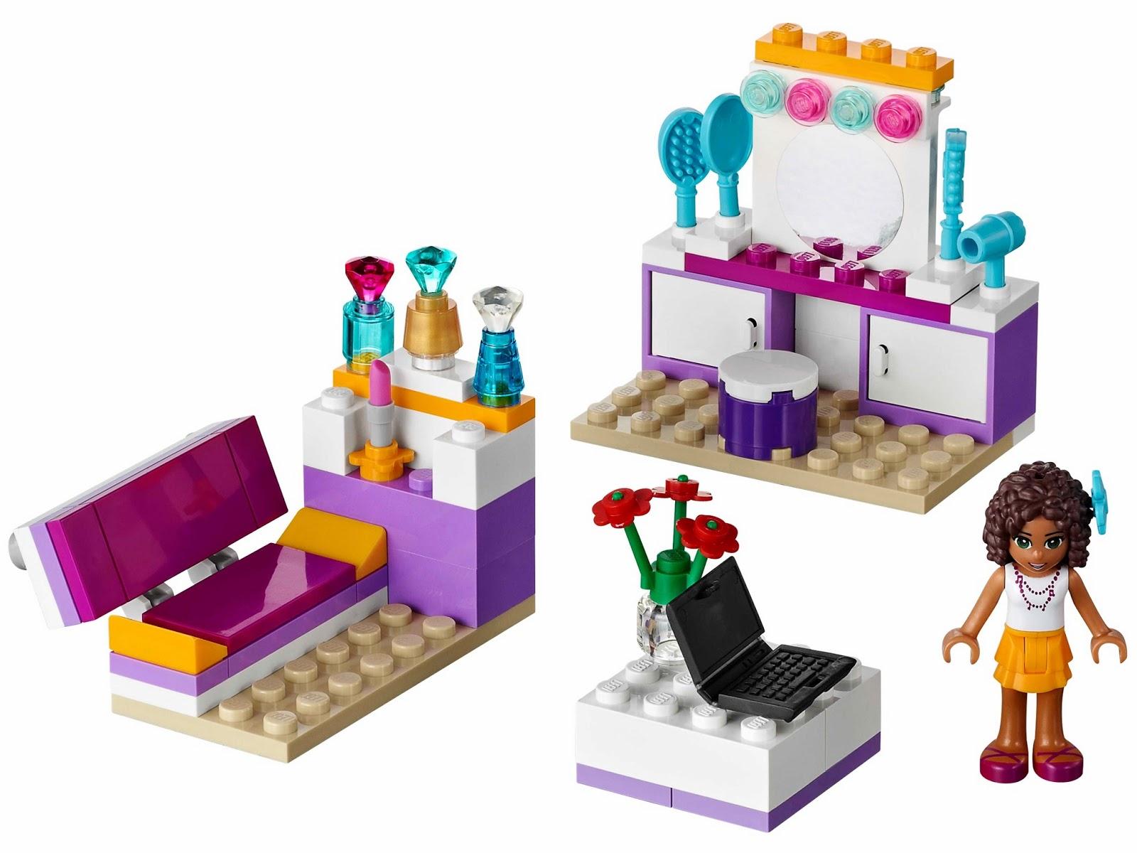 Brick Friends: LEGO 41009 Andrea's Bedroom