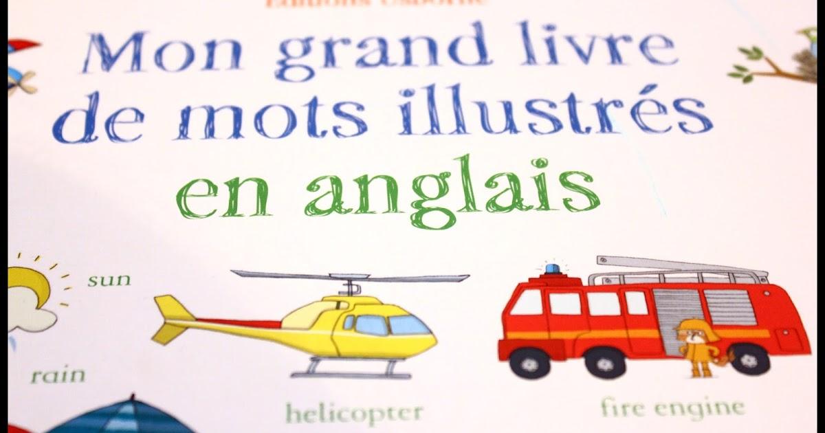 mon grand livre de mots illustr u00e9s en anglais ed usborne  chut les enfants lisent   31