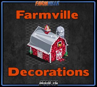 Farmville Decorations