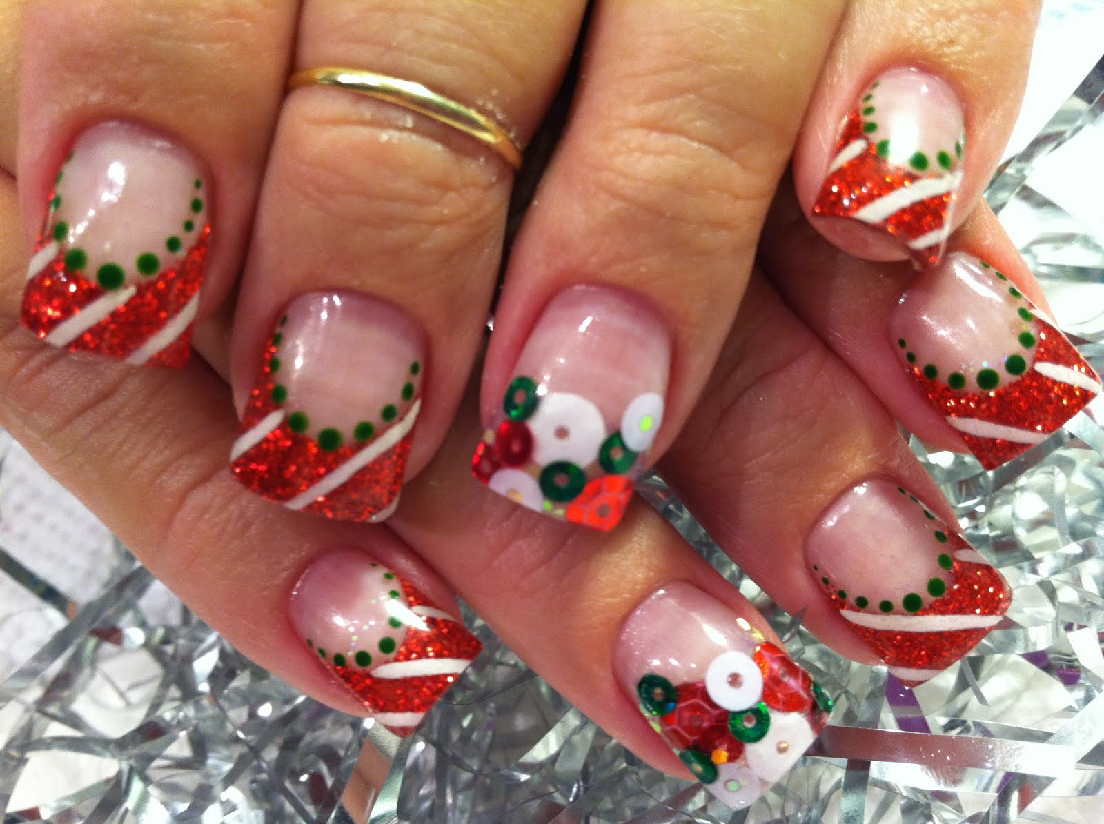 The Exciting Popular holiday nail designs 2015 Photograph