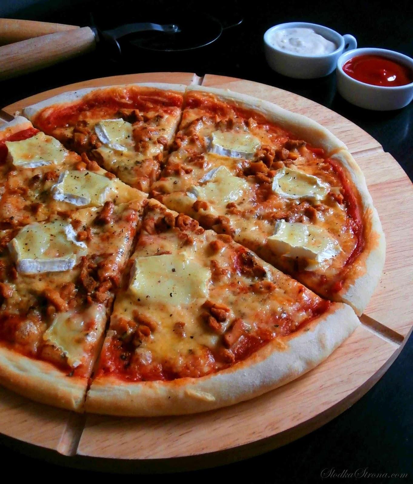 pizza z lesnymi grzybami