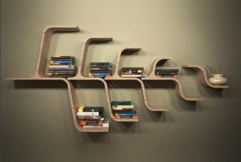 Rak Buku Unik 3