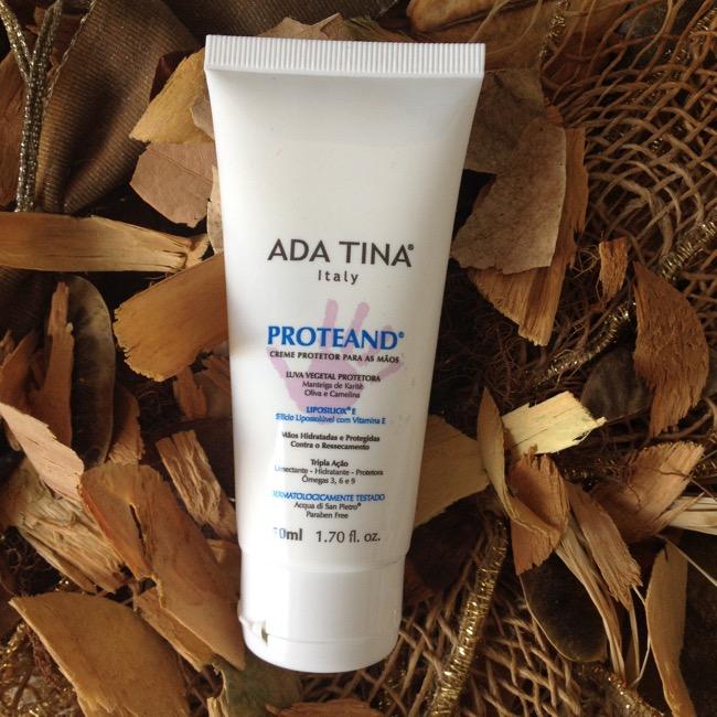 Proteand Ada Tina - Creme protetor para as mãos e áreas ressecadas